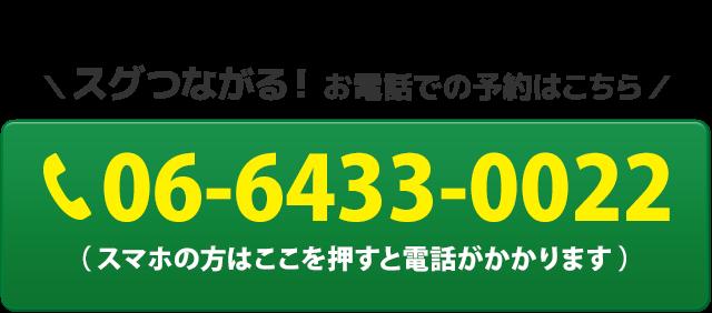 電話番号:06-6433-0022